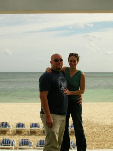 Dave and I in Mexico