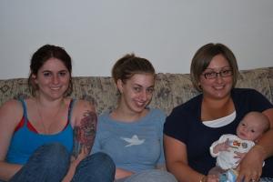 Emily, Lisa, Theresa, and Ajax