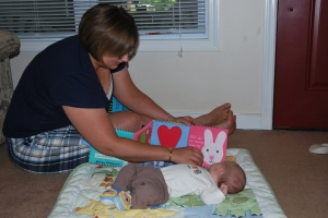 Ajax reading with Aunt Theresa