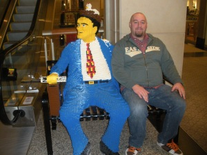 Dave with Lego Man.